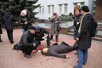 В Хмельницком умерла женщина, которую подстрелили во время штурма СБУ