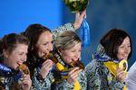 Медальный зачет после 15-го дня Олимпиады в Сочи