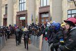 Кернеса и Добкина возле ХОГА ждет Евромайдан