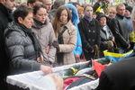 В Ивано-Франковске тысячи людей прощаются со студентом, которого убил снайпер на Майдане