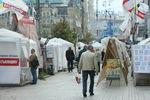 Палаточный городок Тимошенко у Печерского суда пока расходиться не собирается