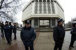 В Севастополе пикетчики не пустили на рабочее место нового начальника милиции