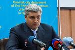 """Глава донецкой милиции: """"В РОВД доставили более 70 участников несанкционированных митингов"""""""