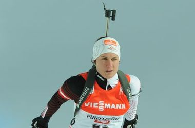 <p>Катарина Иннерхофер. Фото biathlon-hochfilzen.at</p>