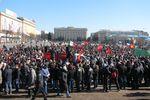Пророссийский митинг в Харькове: активисты требуют референдум