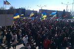 В Запорожье флешмоб памяти Тарасу Шевченко перерос в потасовки на политической почве