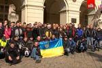 Львовские байкеры выступили за единство Украины