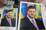Харьковчане раскупают портреты Януковича и сметают с прилавка книги Кушнарева