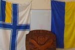 Днепропетровские активисты спасли в Крыму государственные символы Украины