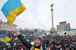 На Майдане проходит Народное вече за территориальную целостность Украины
