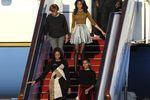 Мишель Обама и ее дочери посетили Великую Китайскую стену