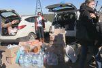 Колонна машин из Донецка и области привезла военным вещи и еду