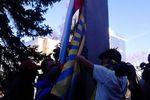 В Донецке за снятие украинского флага активисту грозит 5 лет условно