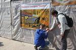 В Киеве пытаются спасти старейший книжный магазин, на месте которого строится ресторан