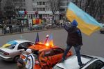 Киевские областные перевозчики создали Автомайдан в знак протеста против коррупции