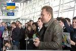 Мер Львова Садовой приехал в Донецк посмотреть хоккей