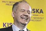 Новый президент Словакии работал на бензоколонке, а потом стал миллионером