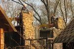 В Харькове заканчивают разбирать сгоревший ресторан