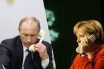 Путин позвонил Меркель, чтобы обсудить Украину
