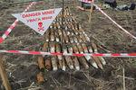 На украино-российской границе обнаружили склад боеприпасов