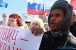 Сепаратист, который в Донецке требовал вернуть Януковича, оказался членом партии Лимонова