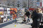 На центральной площади Херсона показали Майдан