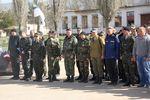 Украинские военнослужащие из Перевального покинули Крым