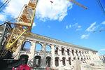 Реконструкция Гостиного двора в Киеве приостановлена: это может разрушить здание
