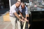 Пианино на Крещатике возвращается в общий доступ