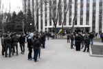 Под ОГА в Днепропетровске проходят два митинга