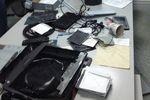 В Харькове пророссийские активисты разгромили аппаратную местной телекомпании