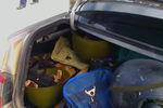 В Луганске задержали авто с арсеналом оружия
