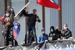 Сепаратисты на востоке отстреливались и бросали гранаты – Турчинов