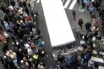 В Харькове пророссийские активисты разбили милицейский автобус