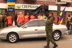"""В Луцке """"Правый сектор"""" потребовал закрыть российские банки"""