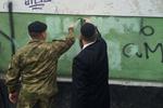 """Главный раввин Одессы лично закрасил надпись """"Смерть жидам"""""""