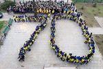 Одесские студенты устроили очередной патриотический флешмоб