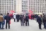 Захватчики Донецкой ОГА жалуются, что люди к ним не подтягиваются