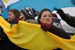 """Более 2 тысяч днепропетровцев образовали живую """"цепь единения"""""""