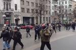 Как антимайдановцы гнались за женщинами и детьми в Харькове (Осторожно, ненормативная лексика!)
