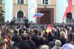 В Одессе пророссийские активисты пикетируют СБУ