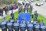 В Киеве появился памятник гаишникам
