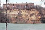 Историческим местам Киева угрожают масштабные оползни