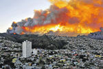 500 домов сгорели в Чилийском порту