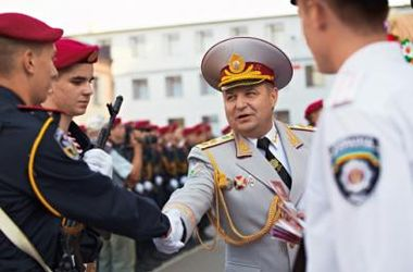 Турчинов уволил командующего ВВ МВД Украины