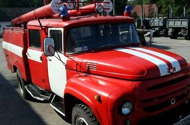 В Славянске сепаратисты украли у пожарных служебный автомобиль
