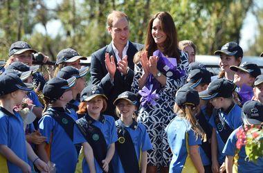 Принц Уильям и герцогиня Кэтрин навестили жителей Голубых гор