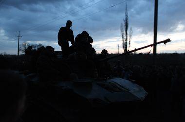 В Днепропетровскую область возвращают бронетехнику из Краматорска