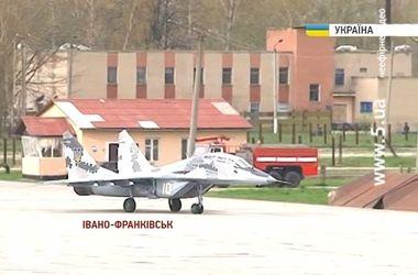 В Ивано-Франковске проверили готовность истребителей защищать Украину от агрессора