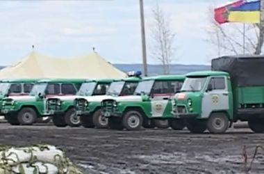 Границы Харьковской области охраняют пограничники с Западной Украины